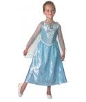 Costum carnaval fete Elsa cu sunet si lumini