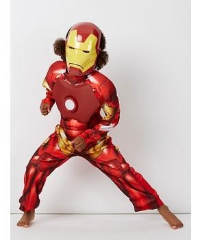 Costum carnaval baieti Iron Man cu Licenta