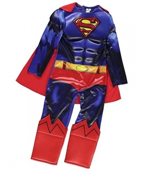 Costum carnaval baieti Superman cu Licenta