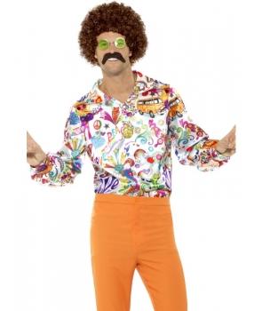 Camasa barbati hippie anii 60