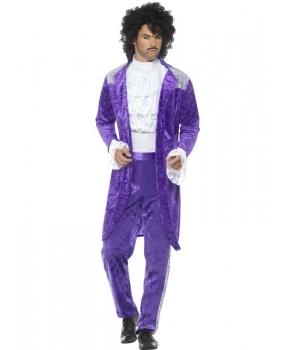 Costum carnaval barbati cantaret pop Prince