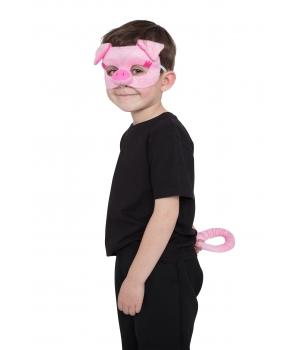Set accesorii porc cu masca