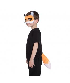Set accesorii vulpe cu masca