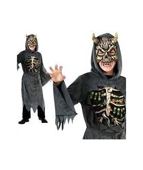 Costum Halloween baieti demonul de la miezul noptii