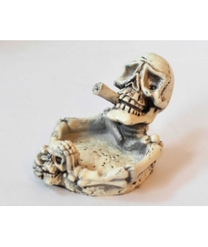 Scrumiera cu schelet