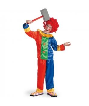 Costum carnaval copii clovn model 1