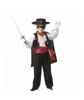 Costum carnaval copii Zorro
