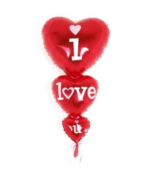 Balon folie I love you