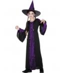 Costum halloween fete vrajitoare mov