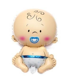 Balon folie bebelus baiat