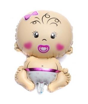 Balon folie bebelus fata