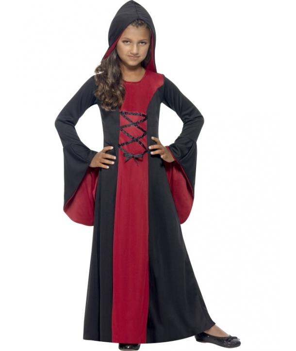 Costum copii vampirita cu gluga Halloween