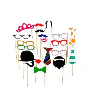 Set propsuri cu ochelari