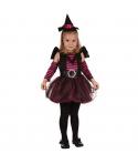 Costum Halloween fete vrajitorica