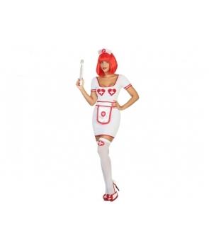 Costum carnaval femei asistenta