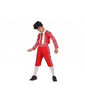 Costum carnaval baieti toreador cu palarie