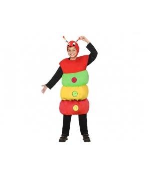 Costum carnaval copii omida, vierme