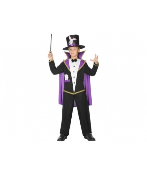 Costum carnaval baieti magician cu mov