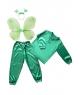 Costum carnaval copii fluture verde