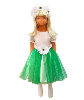 Costum carnaval fete floare Margareta
