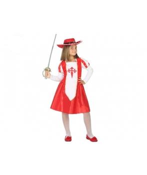 Costum carnaval fete Muschetar