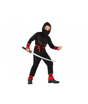 Costum carnaval baieti luptator ninja