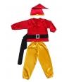 Costum carnaval copii pitic rosu