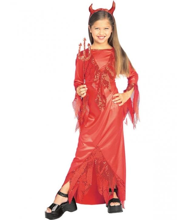 Costum fete Devil diva Halloween