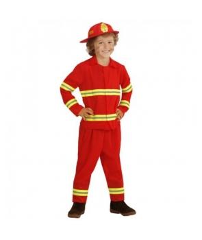 Costum carnaval baieti pompier