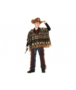 Costum carnaval baieti Cowboy cu esarfa
