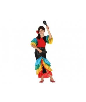 Costum carnaval fete Rumba
