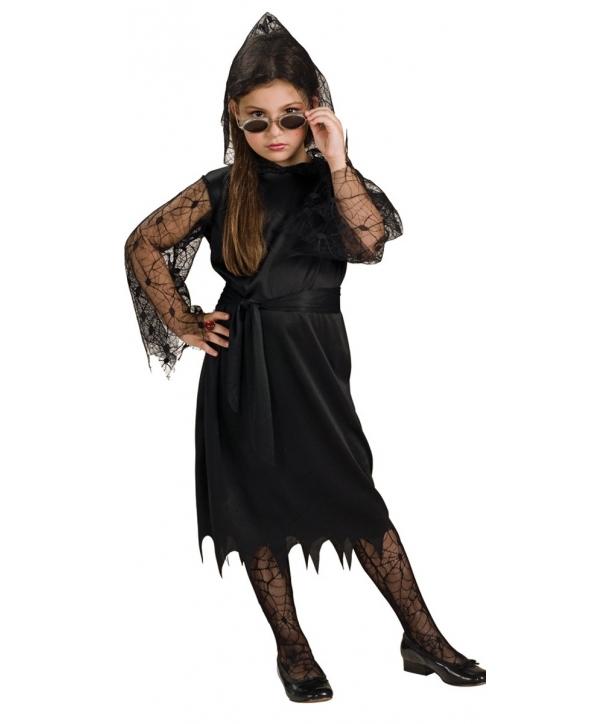 Costum fete vrajitoare neagra Halloween