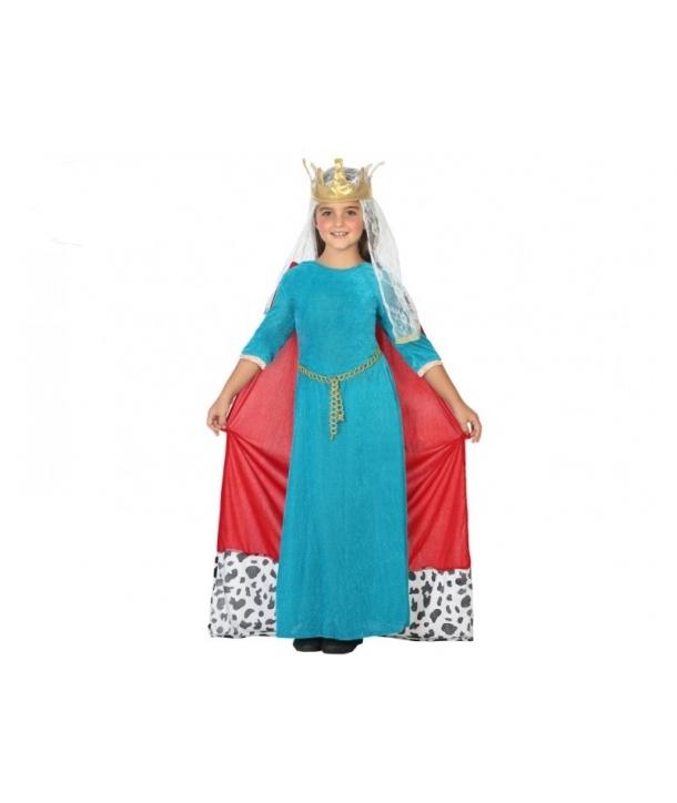 Costum carnaval fete Regina Medievala