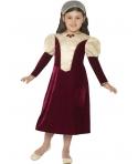 Costum carnaval fete Printesa Medievala Tudor