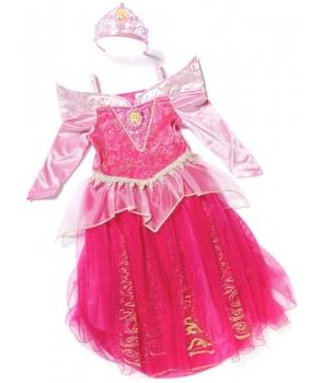 Costum carnaval fete Frumoasa Adormita roz
