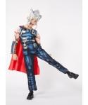 Costum carnaval baieti Thor cu coif