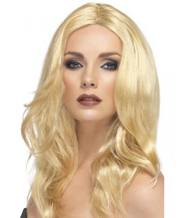 Peruca petrecere Superstar blond