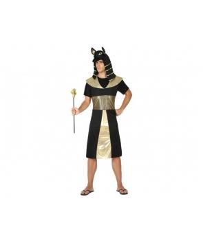 Costum carnaval barbati Egiptean Anubis