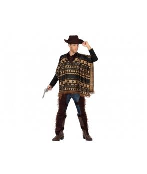 Costum carnaval barbati Cowboy cu palarie