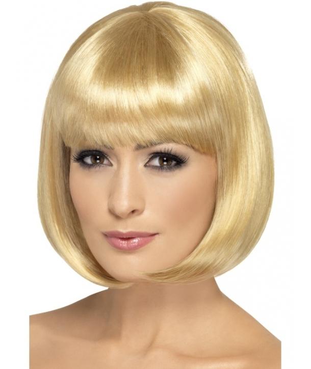 Peruca Partyrama blond inchis