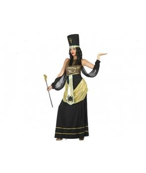 Costum carnaval femei Egipteanca neagra