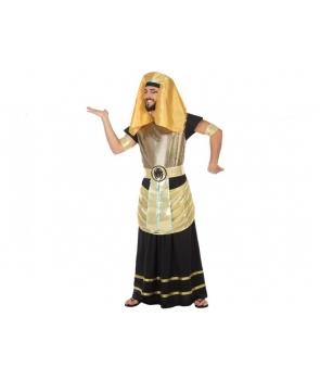 Costum carnaval barbati Egiptean negru