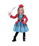 Costum carnaval fete Pirata cu rosu