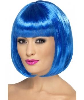 Peruca petrecere Partyrama albastra