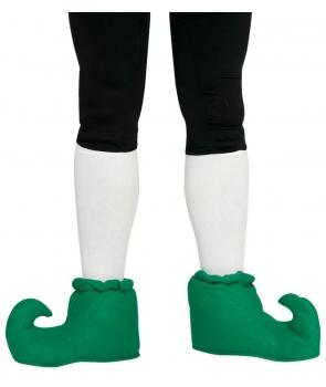 Pantofi de spiridus verzi