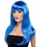 Peruca petrecere Babylicious albastra