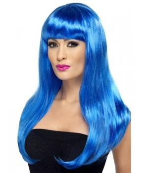 Peruca petrecere Babelicious albastra