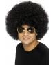 Peruca petrecere Afro negru