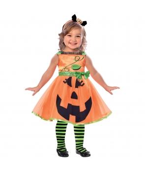 Costum Halloween fete Dovlecica simpatica