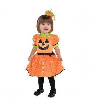 Costum Halloween fete Dovlecica 12-24luni